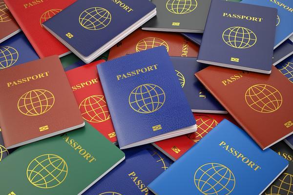 Selection of passports