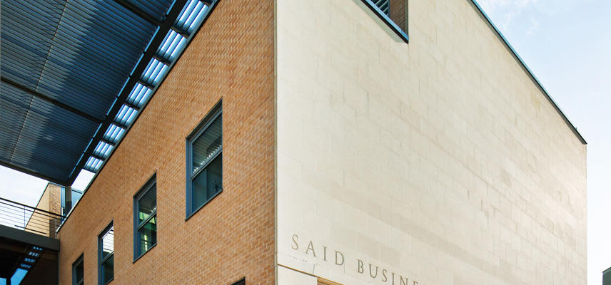 Front of Said Business School