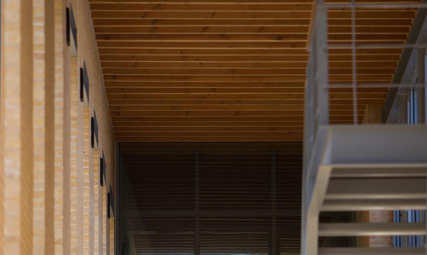 Internal staircase at SBS